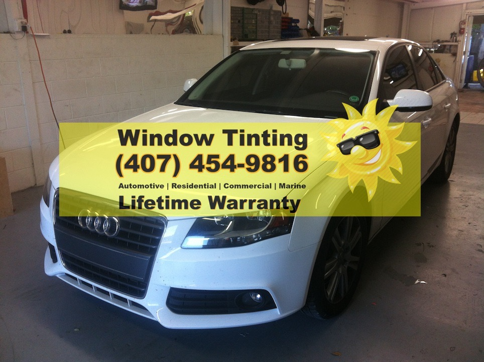 Audi A4 Window Tint Casselberry Orlando