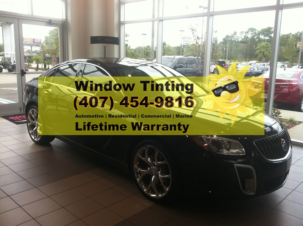 Buick Regal Orlando Window Tint
