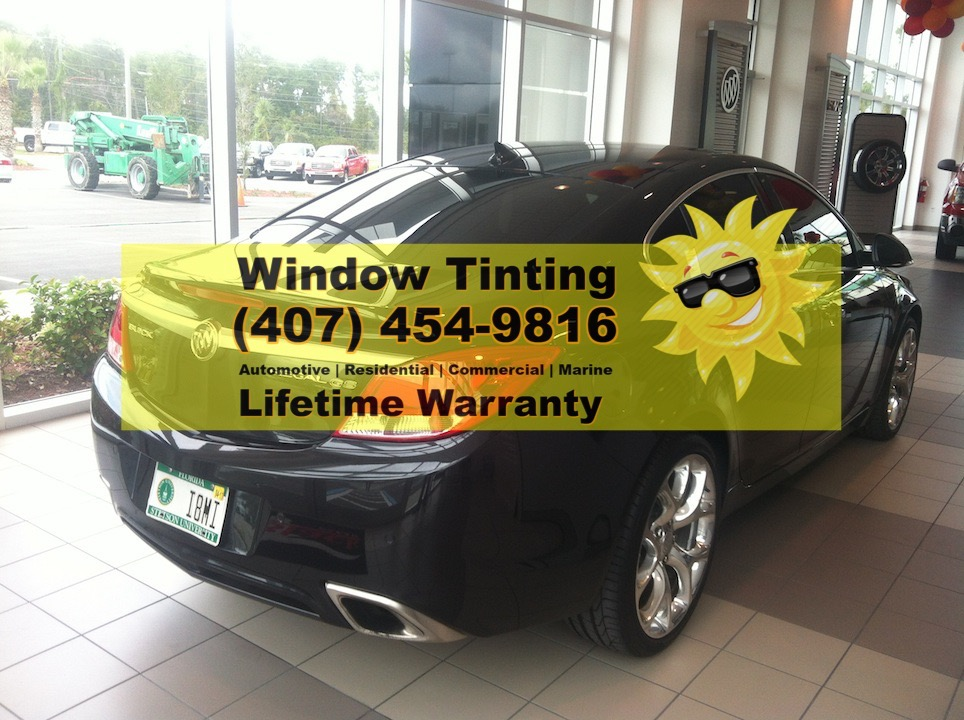 Buick Regal Window Tint Orlando