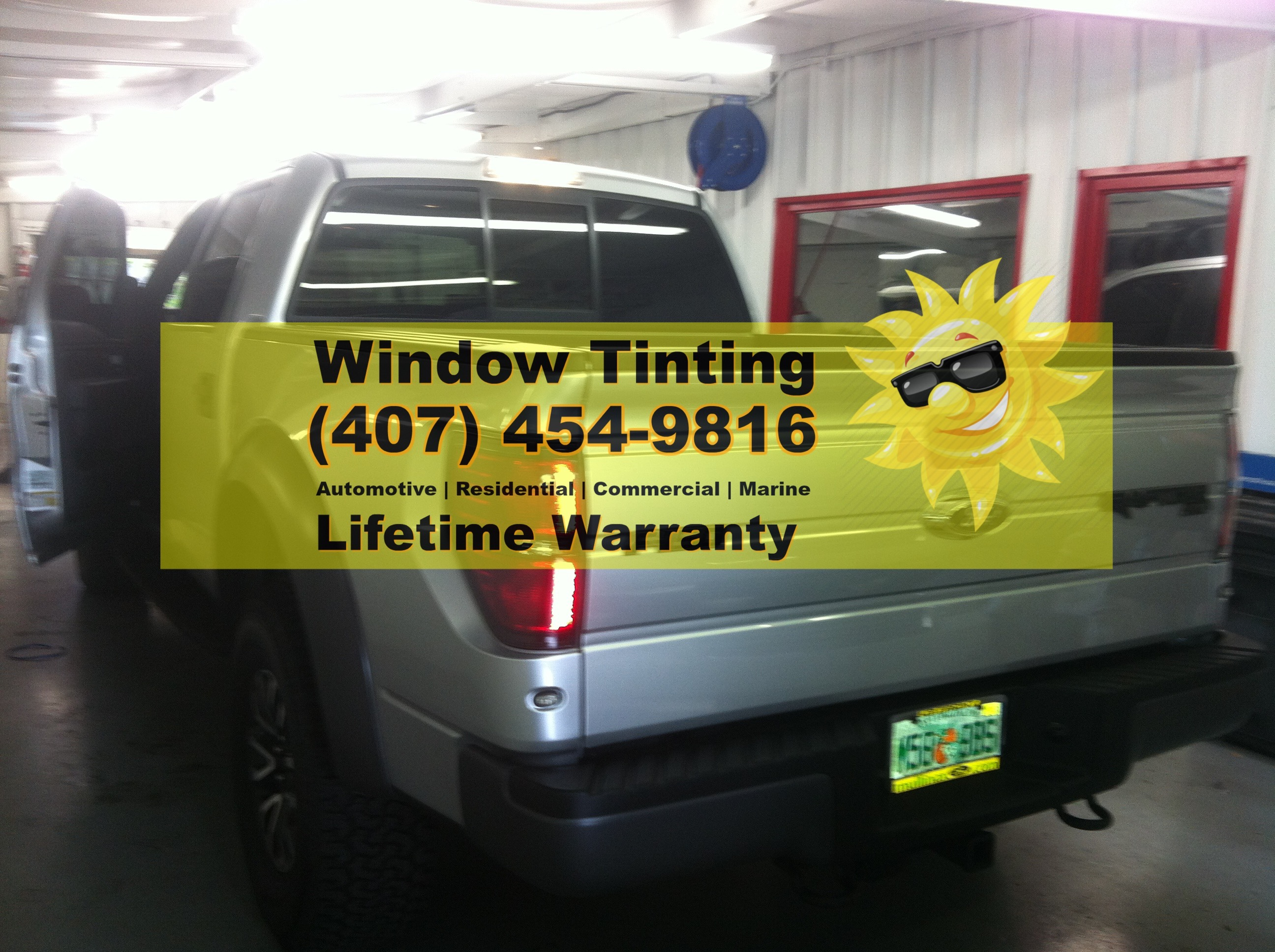 Ford F150 Window Tint Orlando