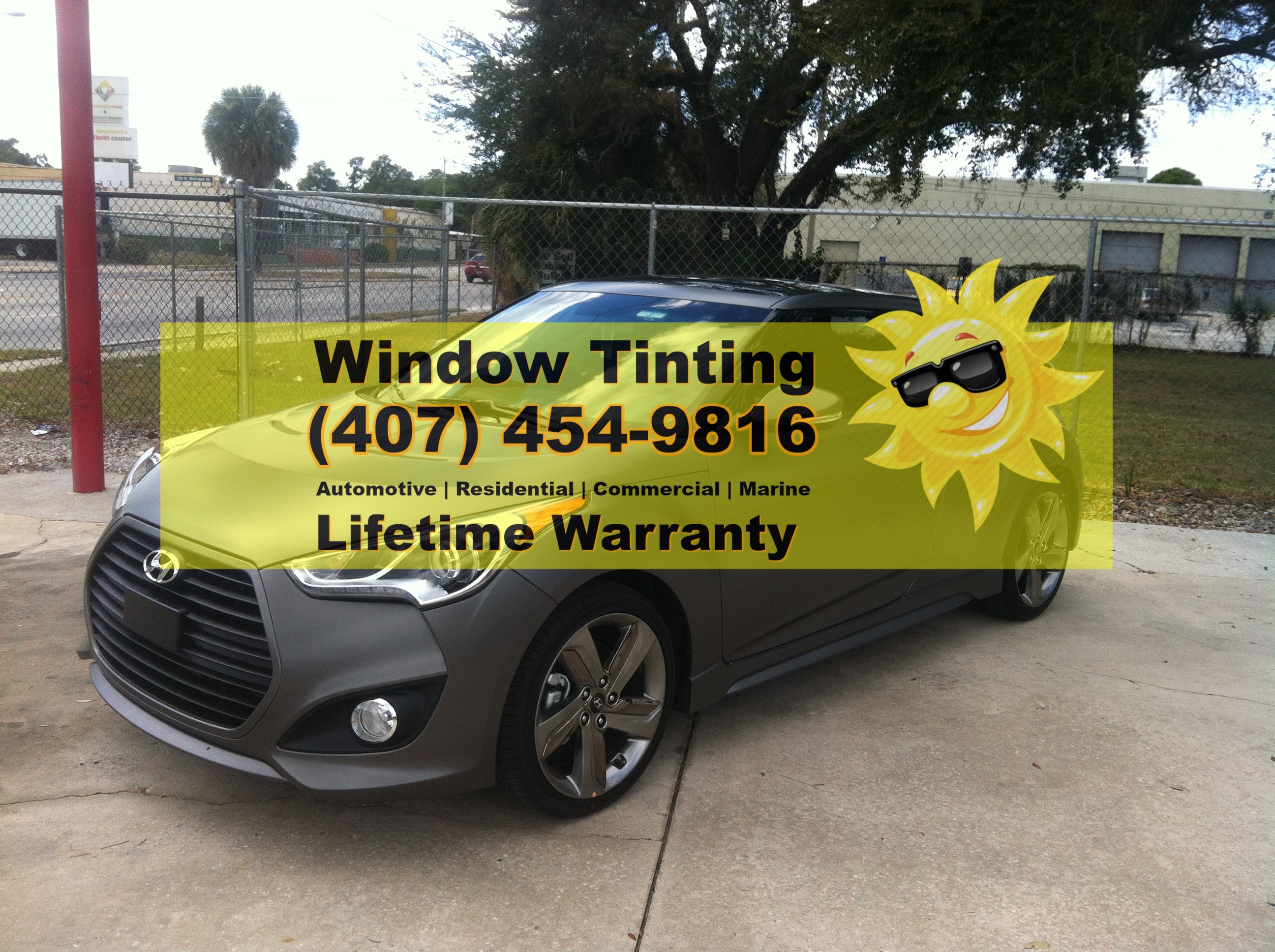 Hyundia Window Tinting Casselberry
