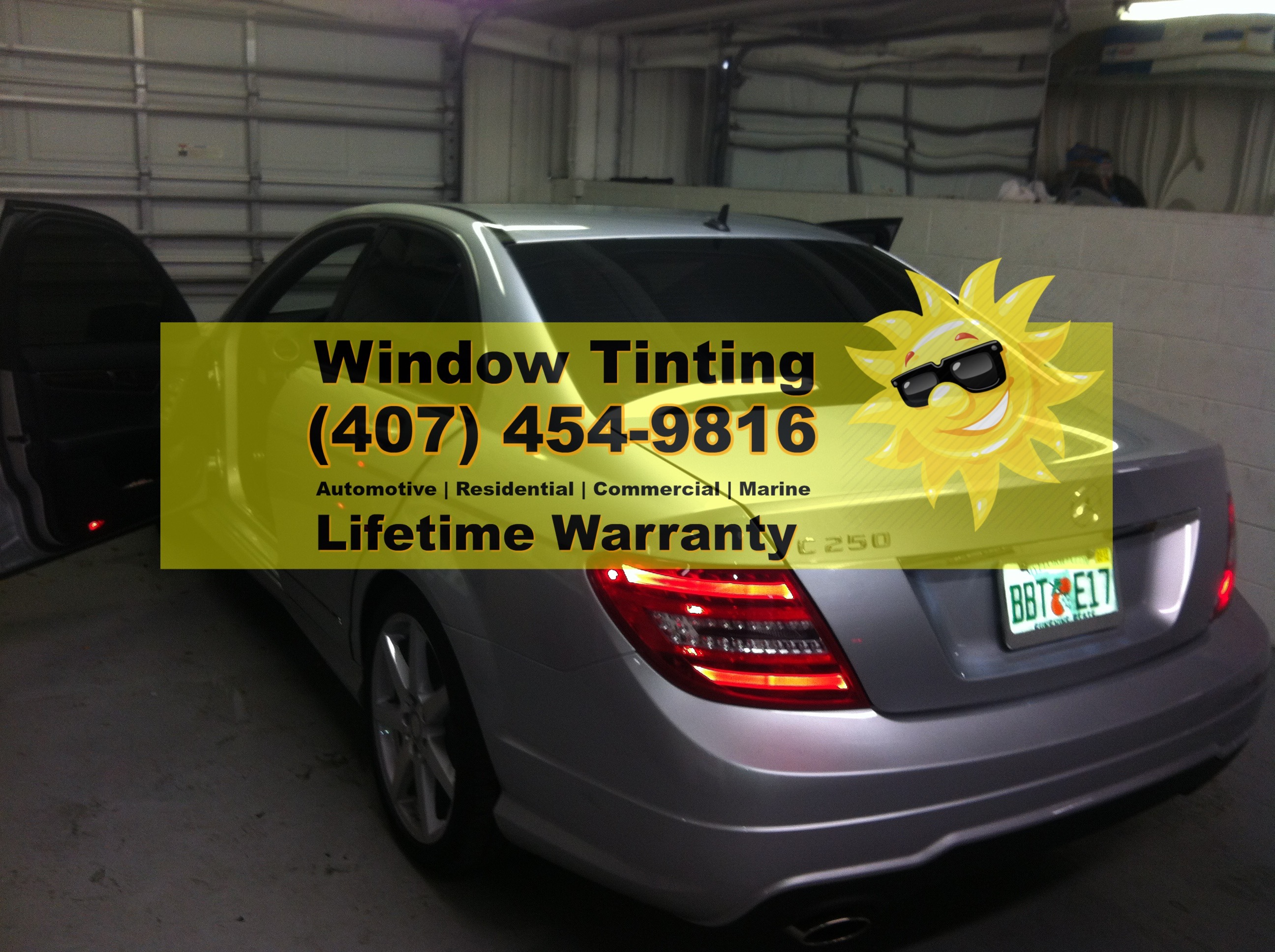 Mercedes Window Tint Orlando