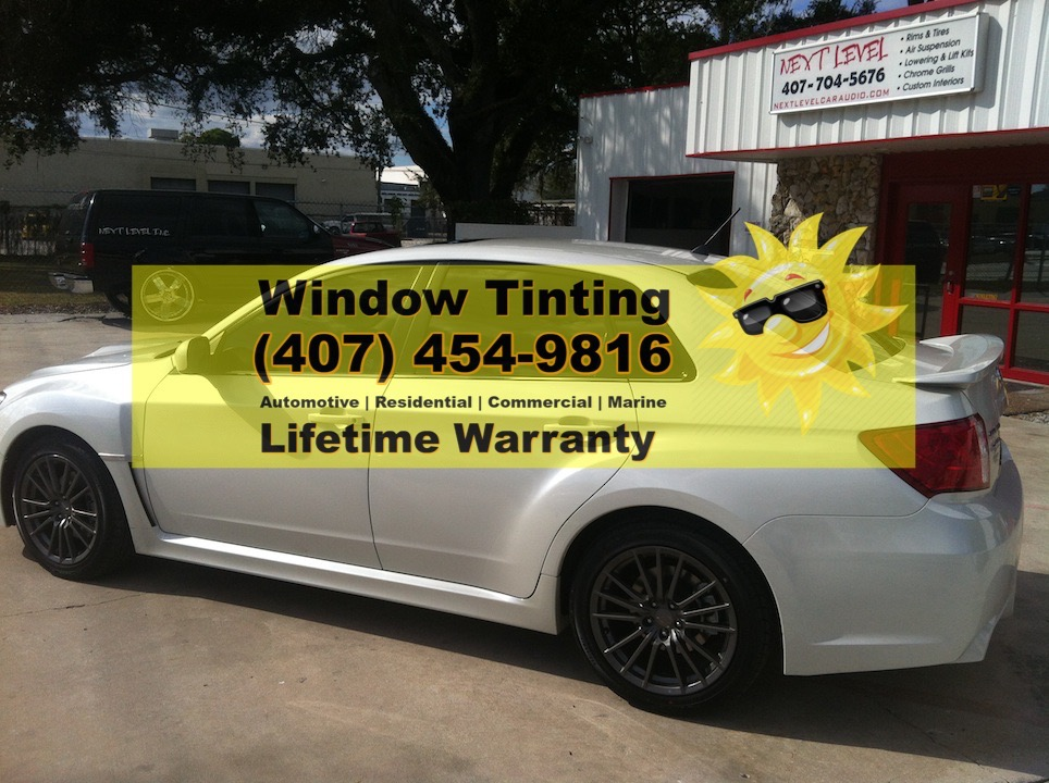 Subaru Window Tint Orlando